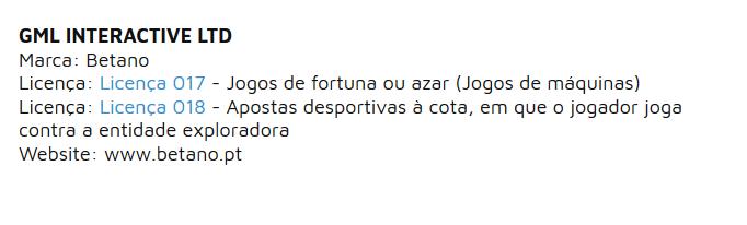 Betano Portugal